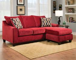 modern living rooms design with red couch and red sofa interior