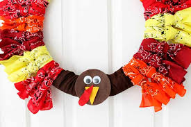 thanksgiving wreaths make a turkey wreath the country chic cottage