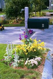my landscape ideas boost flowering mailbox gardens boost curb appeal yards dog and