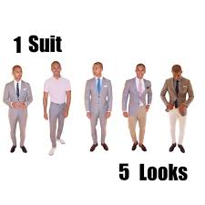What Colors Go Good With Gray by How To Wear A Grey Suit One Suit Five Looks Youtube
