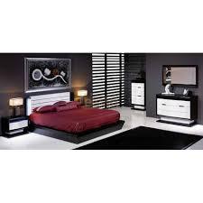 chambre laque noir chambre adulte laque blanc noir éclairage par leds aberdeen