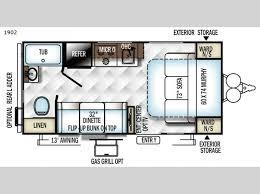 rockwood floor plans rockwood mini lite travel trailer rv sales 17 floorplans