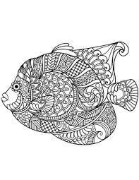 free printable zentangle coloring pages angelfish zentangle coloring page free printable coloring pages