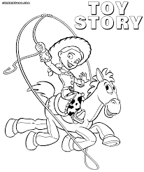 fresh decoration toy story coloring pages spectacular jessie