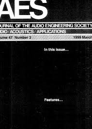aes e library complete journal volume 47 issue 3