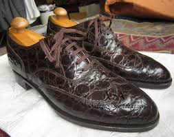 crocodile shoes u0026 alligator mens shoes from a vintage perspective