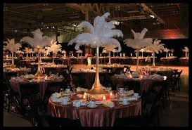 ostrich feather l shade rent ostrich feather centerpieces spandex vases and l shades by