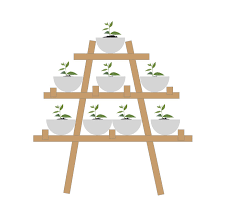how to create a stacked herb u0026 vegetable garden