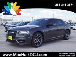 mac haik dodge chrysler jeep ram houston tx 2018 chrysler 300 300s sedan in houston c8012 mac haik
