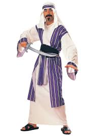 halloween costumes egyptian egyptian sheik costume mens desert prince costumes