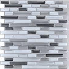 vinyl peel and stick tile 3d backsplash stickers peel u0026 stick