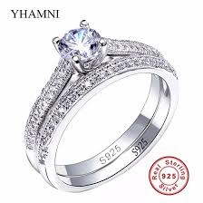 promise ring engagement ring wedding ring set 2017 sona cz diamond engagement rings set 925 sterling silver