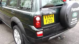 2004 54 land rover freelander 1 8 hse 5 speed manual mercland