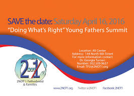 save the date 2not1