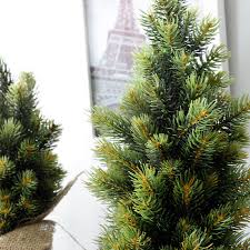 vase tree set new year artificial small potted pine tree