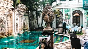 tania peregrino in the versace mansion south beach