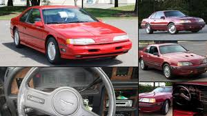 1989 Ford Thunderbird Ford Thunderbird All Years And Modifications With Reviews Msrp