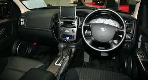 Ford Escape Length - file ford escape xlt interior jpg wikimedia commons
