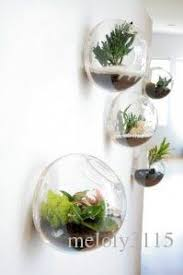 Fish Decor For Home Glass Air Plant Holders Wall Bubble Terrarium Hanging Wall Fish