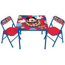 Mickey Mouse Furniture by Mickey Mouse U0026 Friends Erasable Activity Table U0026 Chair Set By Kids