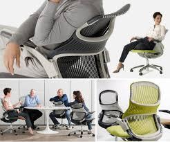 chaise de bureau knoll collection joynt le mobilier par lago esprit design