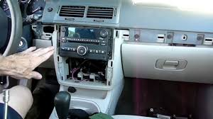 chevrolet cobalt radio removal youtube