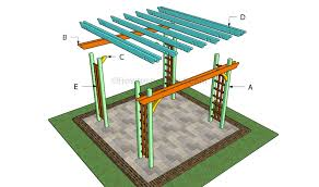 Building A Freestanding Pergola by How To Build A Pergola On A Patio Howtospecialist How To Build