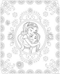 elena of avalor coloring pages free download printable