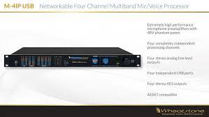 voice mic processors m4ip usb