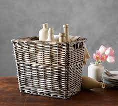 Pottery Barn Willow Table Willow Tall Basket Pottery Barn