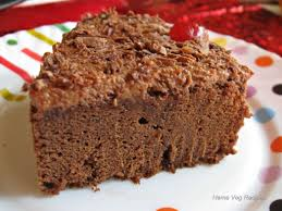 eggless chocolate cake cake baked in microwave vegetarian recipes