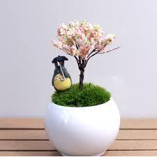 micro tree miniatures garden landscape potted lawn mini