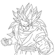 dragon ball z son goku put on horse dragon ball z coloring pages