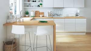 cuisines deco stunning deco cuisine bois et blanc ideas design trends 2017