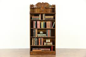 sold bookcases library cabinet harp gallery antiques