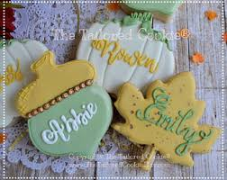 personalized cookies etsy