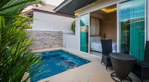 plunge pool 2 bedroom villa villa u0026 rates the ville jomtien
