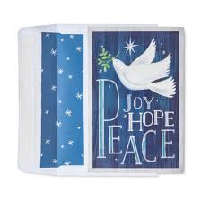 american greetings 40ct dove peace boxed cards