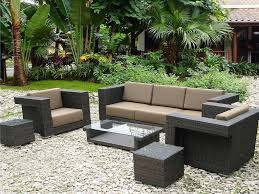 Modern Outdoor Furniture Clearance by Beautiful Wicker Outdoor Furniture Sets All Home Decorations