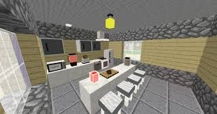 cuisine moderne minecraft beautiful comment faire une chambre moderne minecraft ideas