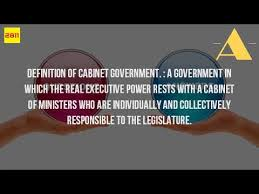 The Cabinet In Government What Is The Definition Of Cabinet In History Youtube
