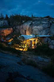 Contemporary Cabin Small Contemporary Cabin In Norway Serves Up Style On The Rocks