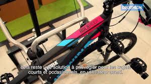 siège vélo é decathlon porte vélo