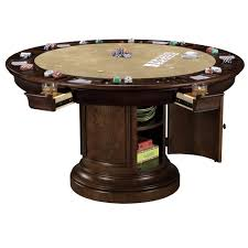 Poker Table Chairs With Casters by Dining U0026 Poker Game Table By Howard Miller Wolf And Gardiner