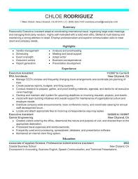 exle of resume for resume exle for administrative assistant exles of resumes