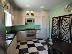Using All Of Your Kitchen Space Art Deco Kitchen Kitchen - Art deco kitchen cabinets