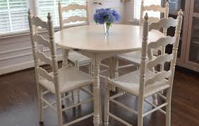 table good shabby chic dining room table and chairs reference