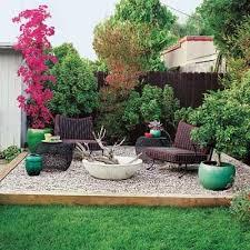 Grassless Backyard Ideas 34 Best Gravel Images On Pinterest Gravel Patio Backyard Ideas