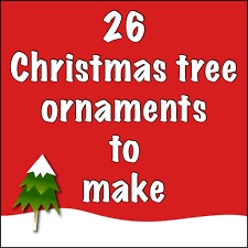 Christmas Tree Picture Frames Just Crafty Enough U2013 26 Christmas Tree Ornaments To Make
