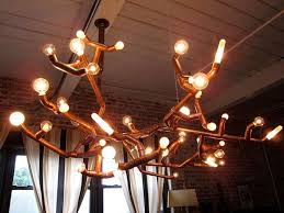 Copper Chandeliers Copper Dining Room Light Fixtures Tags Marvelous Copper